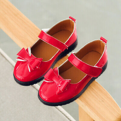 Fashion Spring Baby Girls Leather Shoes Toddler Princess Shoes Kids School Shoes
