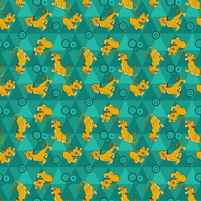 Disney 67119 Lion King Friends 100% cotton flannel fabric by the yard
