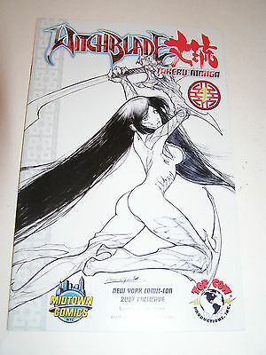 New York Comic Con 2008 Witchblade 1 Takeru Manga Limited to 1000 NYCC Variant