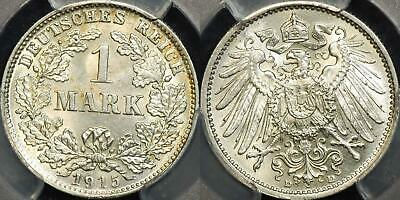 Germany-Empire 1915-D Mark KM #14 PCGS MS64 Choice Uncirculated