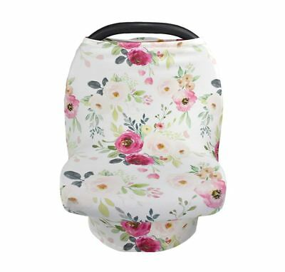 Multi-Use Nursing Cover Baby Car Seat Canopy Shopping Cart Stroller Cover