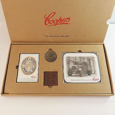 Coopers, The Leabrook Years 1881-2001, Members Collectors Pack, Coin, Coasters