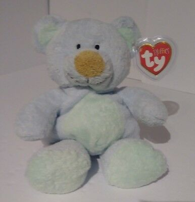 b2d9a708aaa NEW TY PLUFFIES ~Bluebeary~ Teddy Bear Beanie Baby- Very Soft Plush ...