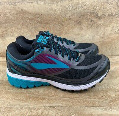 9dabd69d0d2 BROOKS GHOST 10 GTX Woman s Running Shoes Peacock Blue Black ...