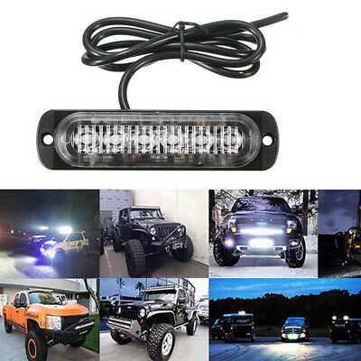 18W Spot LED Bright Light Work Bar 800LM Driving Fog Offroad SUV Car Boat Lamp