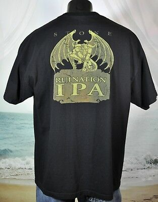 Stone Brewing Co RUINATION IPA Shirt XXL I m Very Bitter And I Like It 1b83ef52d