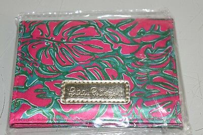Nuovo Lilly Pulitzer Assorbente Cartine Sunkissed Rosa Pass The Peanuts Id