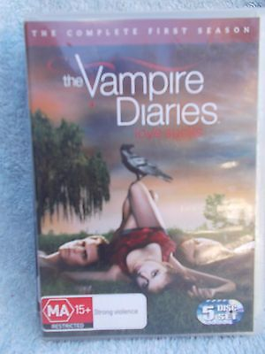 The Vampire Diaries Complete First Season  5 Disc Boxset  Dvd Ma R4
