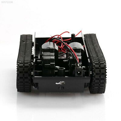 Robot Smart Tank Chassis Diy Kit Car Arduino Light Shock with 130 Motor Fine NEW