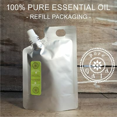 Essential Oils + Carrier Oil 100% Pure & Natural Aromatherapy Grade Oil (Refill)