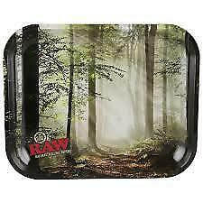 Raw Rolling Tray Forest Rawthentic Large Size 34cm x 27.5cm Special Edition