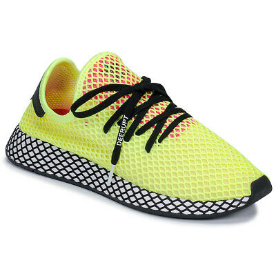 new style 3c571 48eed Sneakers Scarpe uomo adidas DEERUPT RUNNER Giallo Tessuto sintetico adida.