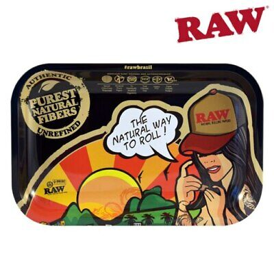 Raw Brazil Rolling Tray Small Rawthentic The Natural Way to Roll Brasil Design