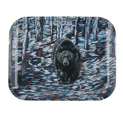 OCB Rolling Metal Tray Bear Coloured  Curved Size Large Artist Series