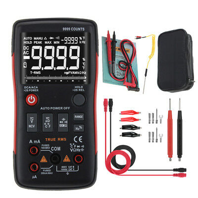 ANENG Q1 Digital Multimeter DC/AC Voltage Ammeter Frequency Current Ohm Tester