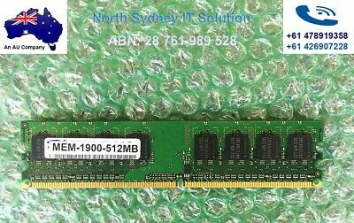 512MB DRAM Memory MEM-1900-512MB For Cisco Router 1941, 1941W, 6mth Wty, Invoice