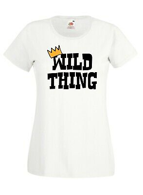 Ladies Wild Thing T-shirt - World Book Day Where Things Outfit Are Teacher Top