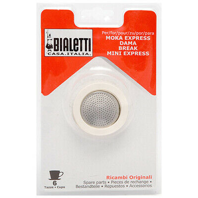 Bialetti 6 Cup Washer / Filter Set