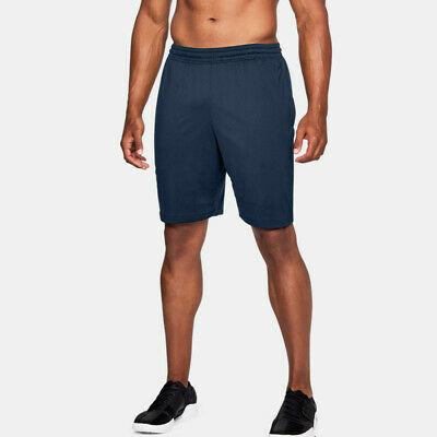 Under Armour Mens MK-1 Training Gym Fitness Shorts Pants Trousers Bottoms Navy