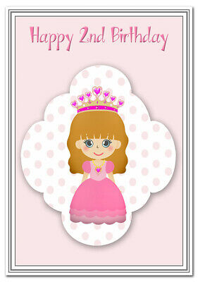 2nd Birthday Cards For Girls