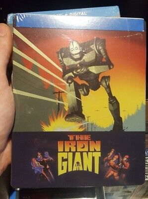 Iron Giant - FYE Exclusive Steelbook (Blu-ray) BRAND NEW!!
