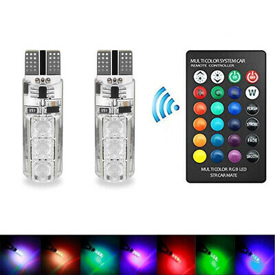 2x T10 Veilleuses LED W5W Canbus ODB XENON 5050 6SMD voiture moto