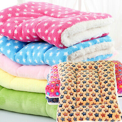 Washable Pet Thick Blanket Dog Cat Puppy Bed Cushion Mattress Kennel Soft Mat