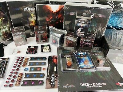 Deep Madness Board Game Multilisting: Spares; Figures; Complete Boxes [ENG,2018]