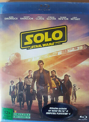 Solo A Star Wars Story  Blu Ray  Neuf Sous Cellophane