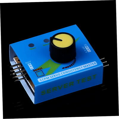 Multi Servo Tester 3CH Consistency Speed Controler Power Channels CCPM Meter Q9