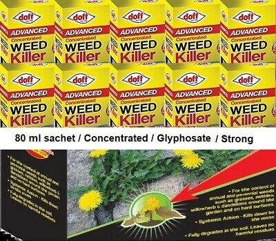 Strong Advanced Concentrated Weed Killer Kills  Glyphosate Weed And Roots Sachet