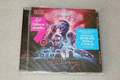 Muse - Simulation Theory CD  POLISH STICKERS NEW SEALED