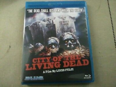 City of the Living Dead (Blu-ray Disc, 2010) FULCI ZOMBIE ARGENTO BEYOND GIALLO