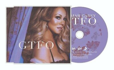 Mariah Carey - GTFO (Remixes) CD Single Caution