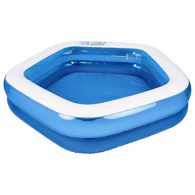 "Jilong Kiddie Pool Giant Inflatable Family and Kids Pentagon Pool - 79""x77""x18.5"