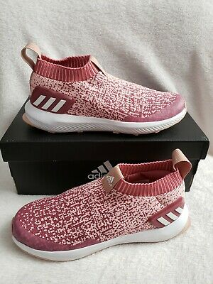 Girls | size 1 | adidas RapidaRun Laceless Running Shoes | New with Box |