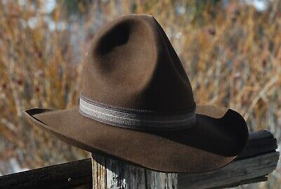 c726968d8bf Vintage 4X Stetson Gus Cowboy Hat SASS Event or Horsin  Around Hat Size ...