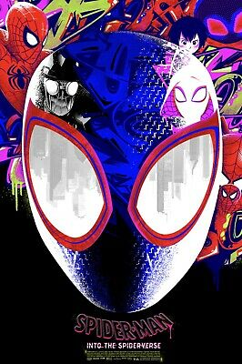 """Spider Man: """"Into the Spider-Verse"""" By Anthony Petrie LE 200 (hand-numbered)"""
