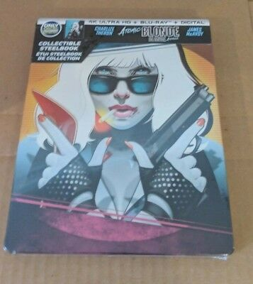 Atomic Blonde - Best Buy Exclusive Steelbook (Blu-ray + 4K UHD) BRAND NEW!!
