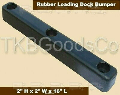 "Loading Dock Bumper 16"" Long Rubber Warehouse Trailer Truck Wall Protection"