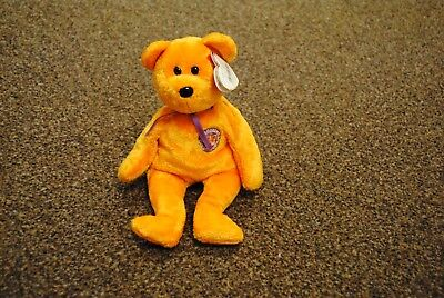 1fa7851de1c Genuine TY Beanie Babies Celebrations 2002 with Tag Good Condition bear