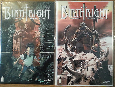 Birthright 1 and 2 Image Comics All first prints.