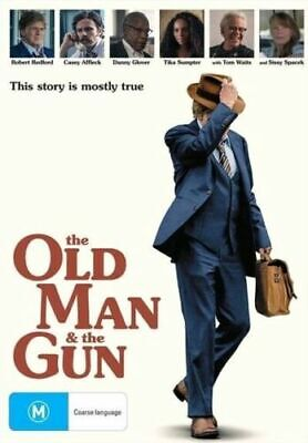 The Old Man And The Gun : NEW DVD :Australian Stock :24 HR SALE ENDS TODAY 21/3