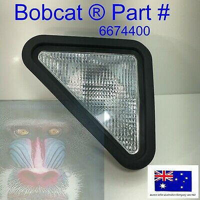 Bobcat Skid Steer Light Front Left Hand Side Headlight  6674400