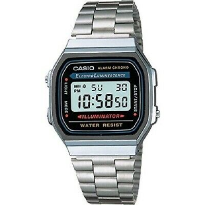 Casio Dress A168WA-1 Wrist Watch for Men