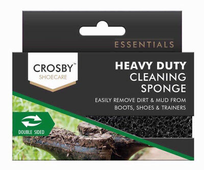 CROSBY Shoecare Heavy Duty Cleaning Sponge BNIP