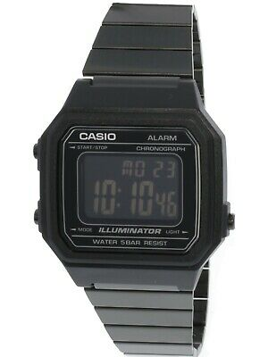 Casio Unisex B650WB-1B Black Stainless-Steel Quartz Watch