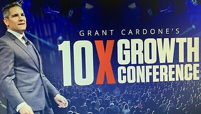 Grant Cardone - 10X Growth Conference Plus All Bonuses 2018 - Business Training