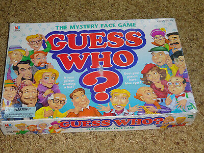 1998 Guess Who Board Game Milton Bradley good condition complete