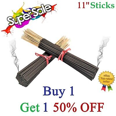 Incense Sticks 100 Bulk Pack Hand Dipped Buy 1, Get ONE 50% OFF Premium Quality